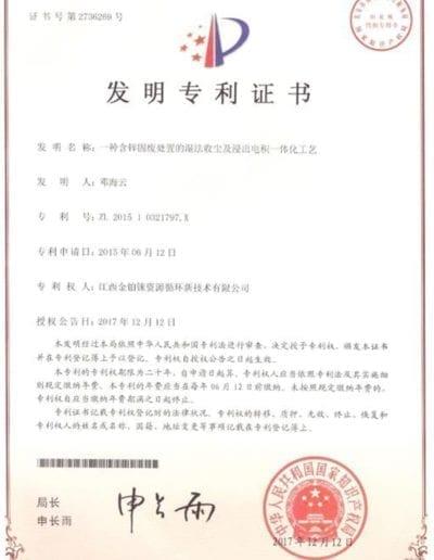 Patent No.13