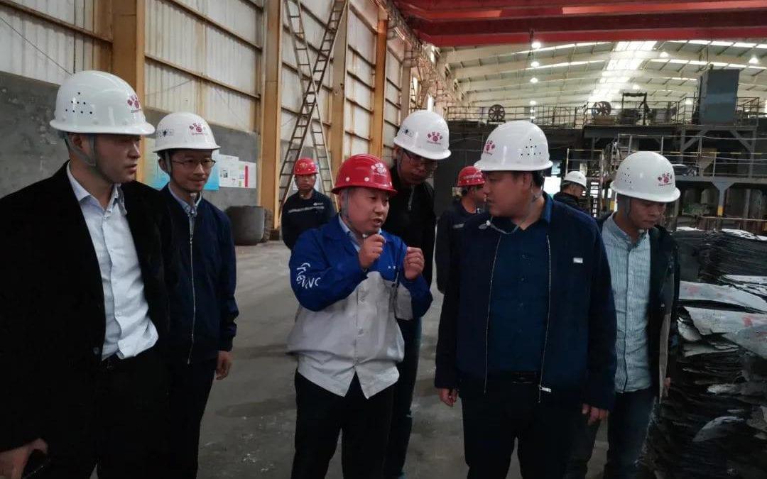 沙钢集团一行到访鑫联环保